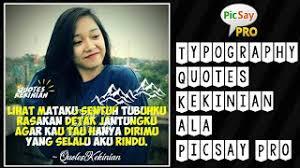 cara buat logo quotes picsay pro Как сделать в Фотошопе
