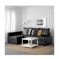 ikea friheten faux leather sofa bed