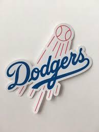 Los Angeles La Dodgers Car Window Truck Laptop Bumper Digital Etsy