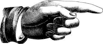 Grand doigt pointé Image Victorienne PNG transparents - StickPNG