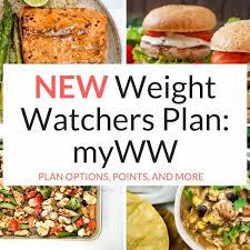 new weight watchers plan