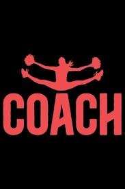 cheerleading coach journal notebook