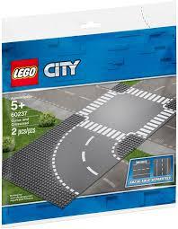 LEGO City 60237 Bộ 2 tấm nền đường 32x32 nút