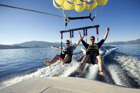 parasailing lake tahoe parasailing
