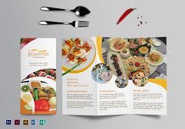 food brochure templates free psd eps