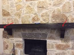 fire place wooden log mantel removal