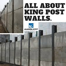 What Are King Post Walls Aarsleff