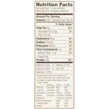 vanilla almond cashew and protein