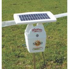 Wolseley Sx250 Solar Powered Electric Fence Energiser Battery Powered Screwfix Eu