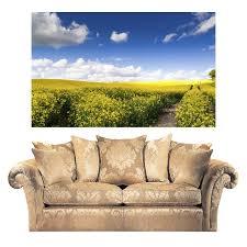 Shop Full Color Summer Landscape Fields Nature Full Color Wall Decal Sticker Sticker Decal 44 X 60 On Sale Overstock 15364962
