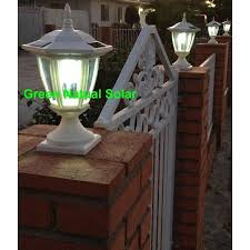 Tools Home Improvement Caps 2 Pack Black Solar Hexagon Post Cap Lights With White Leds For 6x6 Fence Post Green Natural Solar