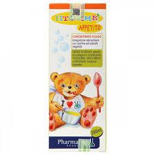 Siro hỗ trợ trẻ ăn ngon Appetito Bimbi Ý 200ml (từ 6 tháng - 12 tuổi)