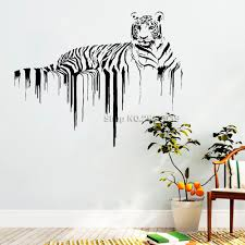 New Arrival Tiger Wall Decals African Wild Pride Animals Stickers Designs Art Office Home Decoration Wall Murals Removable Lc780 Buy At The Price Of 7 98 In Aliexpress Com Imall Com