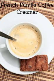how to make french vanilla coffee creamer