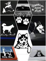 Siberian Husky Collectibles Got Siberian Huskies Sticker Art Husky Dog Decal New Zsco Iq