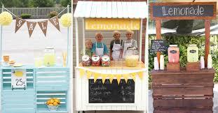 25 effortless diy lemonade stand ideas