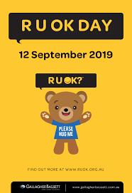 Poster - R U OK Day - Gallagher Bassett