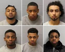 Eight west London gang members who made drill music videos ...