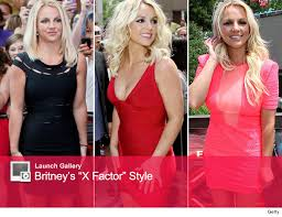 britney spears wears lbd goes without
