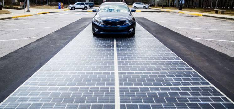 Resultado de imagen de solar road