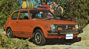 1975 honda civic brochures