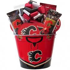 calgary flames hockey gift baskets