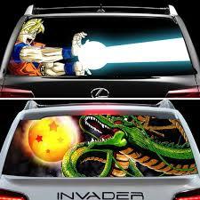 Dragon Ball Z Back Window Decals Shut Up And Take My Yen