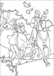 Assepoester Te Paard Kleurplaten