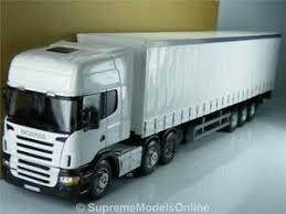 scania curtainside lorry trailer