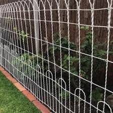 100 X 36 Galvanized Double Loop Woven Wire Old Etsy In 2020 Metal Garden Fencing Garden Fence Panels Garden Fence