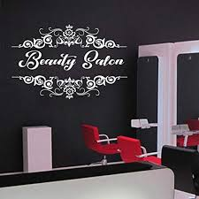 Amazon Com Beauty Salon Hair Salon Style Nail Salon Wall Decal Window Sticker Design Handmade2133 Handmade