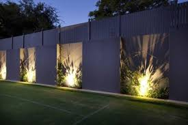 50 Lovely House And Outdoor Lighting Ideas Garden Wall Lights Fence Decor Outdoor Garden Lighting