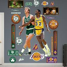Buy Fathead Nba Los Angeles Lakers Magic Bird Duo Wall Decal In Cheap Price On Alibaba Com