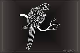 Parrot Decals Stickers Decalboy