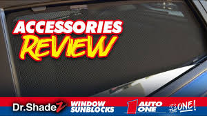 New Auto One Dr Shadez Window Sun Blocks Youtube