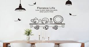 Vinyl Wall Decals For Dining Room Decor Stickers Design Removable 3d Quotes Saying Vamosrayos