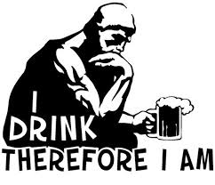 Monty Python Decal The Drinker Alcohol Beer Philosophy Etsy