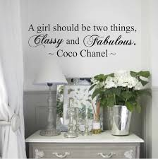 Coco Chanel Wall Quote Decal From Trendy Wall Designs