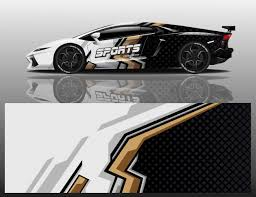 Premium Vector Car Sport Decal Wrap