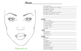 makeup face charts pdf saubhaya makeup