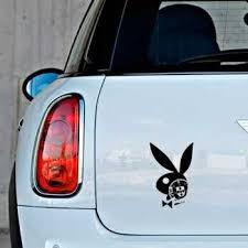 Portuguese Escudo Playboy Bunny Mini Sticker