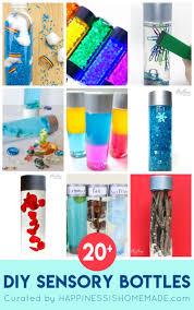 Diy Sensory Bottles For Kids Happiness Is Homemade