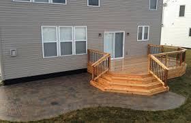 wood deck patio or refacing ideas