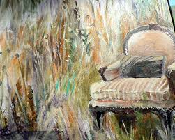 Takin' It Easy #1 Painting by Myrna Brooks Bercovitch