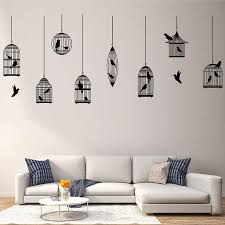 Large 214cmx80cm Multi Style Birdcage Wall Stickers For Living Room Kids Room Home Decoration Wall Decal Home Decor Wallpaper On Aliexpress
