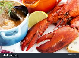 Sea Food Lobster Traditional French ...