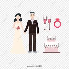 كرتون ثيم العرس كرتون حرف كيك Png والمتجهات للتحميل مجانا