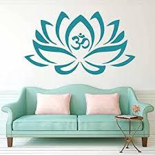 Large Om Symbol Wall Decal Sticker Buddha Absolute Brahman Hindu Wall Decor Stickers Amazon Com