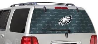 Amazon Com Fremont Die Philadelphia Eagles Full Rear Auto Window Film Decal Graphics Sticker Football Sports Outdoors