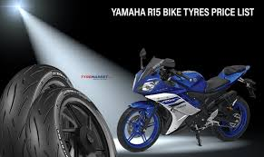 yamaha r15 bike tyres list